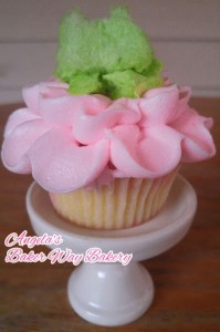 Honey Dukes Pink Candy Floss Cupcakes